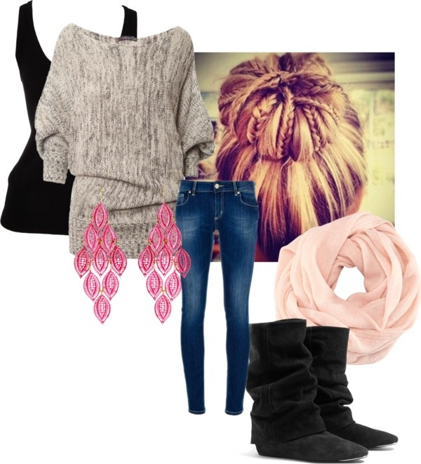 """warm outfit"" by j-elizabethh on Polyvore    Getting ready for winter, so i'll be finding warm outfits for school."