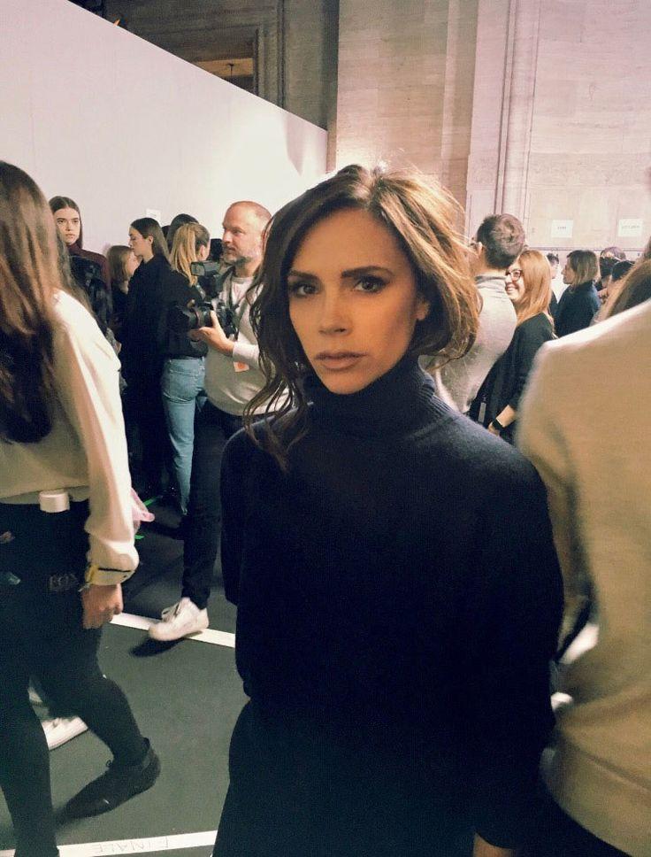 Brooklyn Beckham Photographs Victoria Beckham's Fall 2017 Fashion Show - February 2017