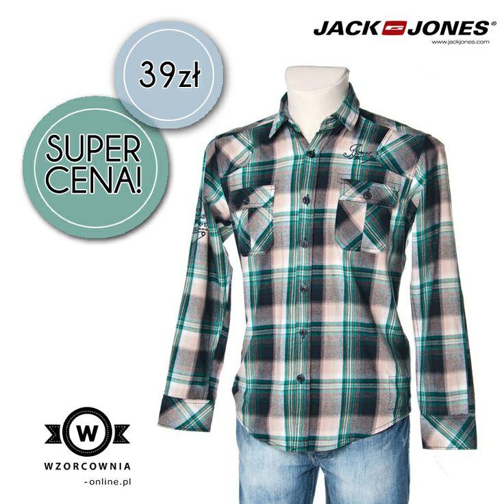 CENA DNIA: Męska #koszula w #kratę JACK & JONES DOSTĘPNA TUTAJ --> http://bit.ly/1juPM3T