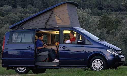 Mercedes Viano Marco Polo 2004...updated VW Westfalia camper