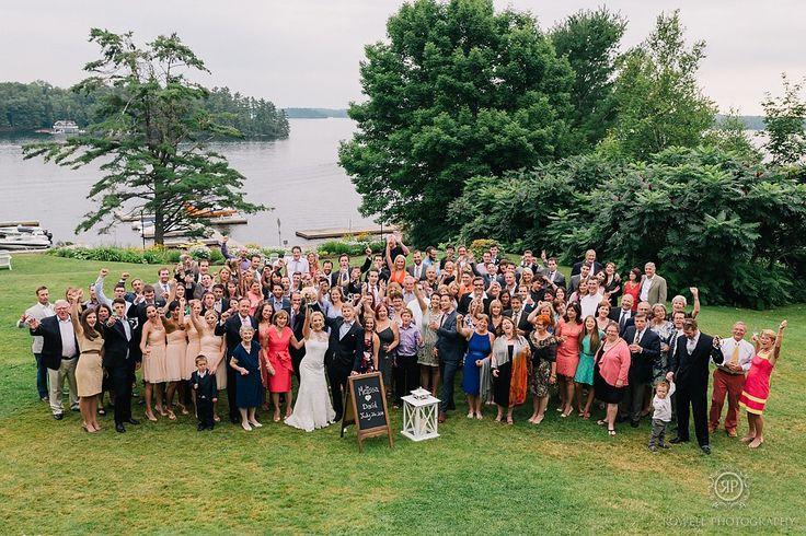 Windermere House Wedding, Muskoka, Canada