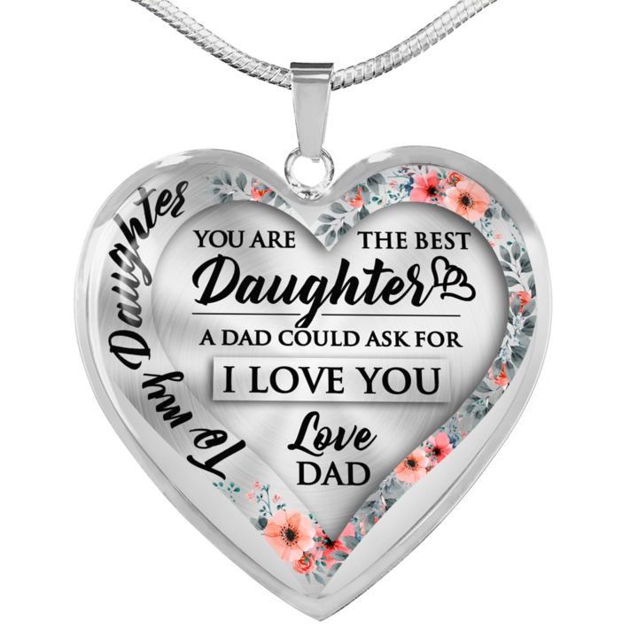 Father daughter gift necklace father daughter gifts
