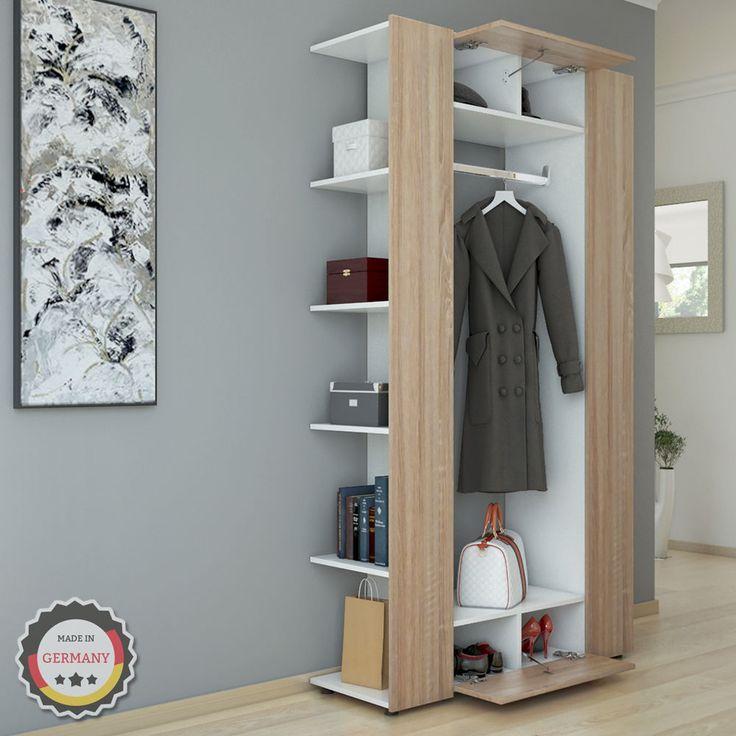 Oltre 1000 idee su armadio guardaroba su pinterest - Scarpiera a muro ...