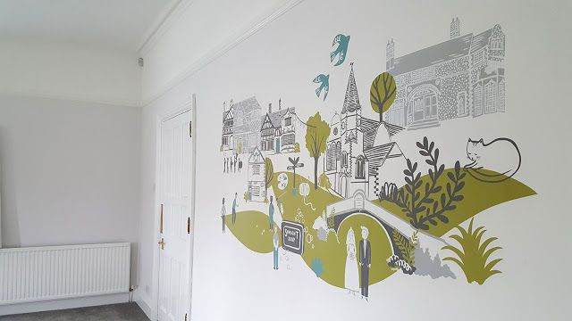 By Stephanie Cole: Mural project at Port Sunlight