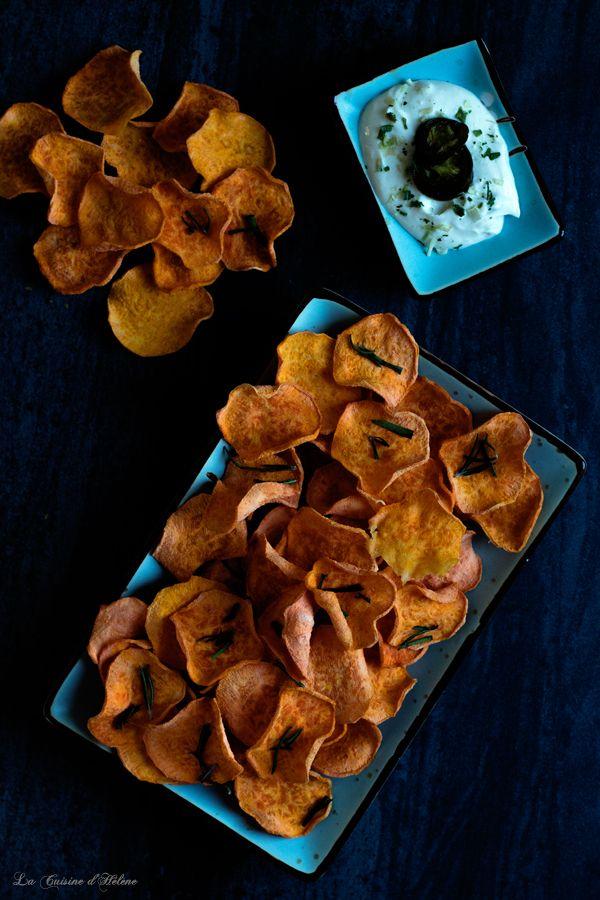 Sweet Potatoes with Salt and Olive Oil - La Cuisine d'Hélène
