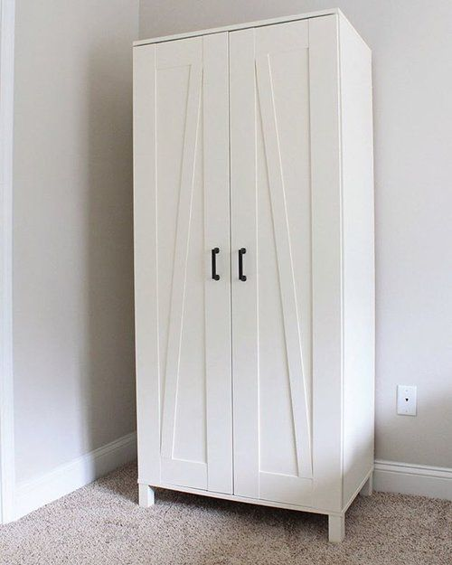 ikea aneboda wardrobe armoire white. Black Bedroom Furniture Sets. Home Design Ideas