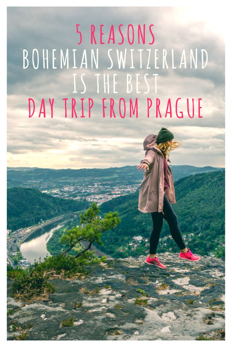 5 Reasons Bohemian Switzerland is the Best Day Trip from Prague: Prague is full of beautiful architecture, cathedrals, and castles. But what many visitors do not realize is that the Czech Republic is home to a national park with a fairytale landscape that is not only inspiring but worth leaving the city for.