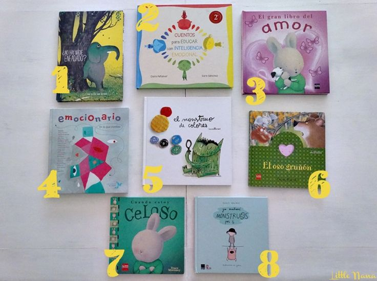 8 libros para trabajar las emociones | Educacion emocional ...