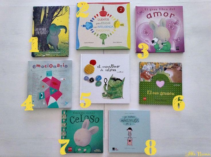 8 libros para trabajar las emociones