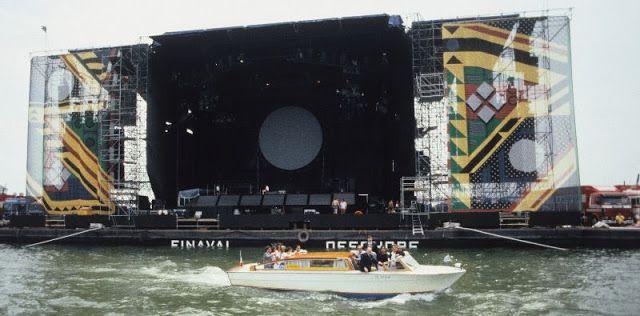 Quel 15 Luglio dell'89 in cui i Pink Floyd suonarono nella Laguna di Venezia - Creatività, Innovazione e Passione per il Bello
