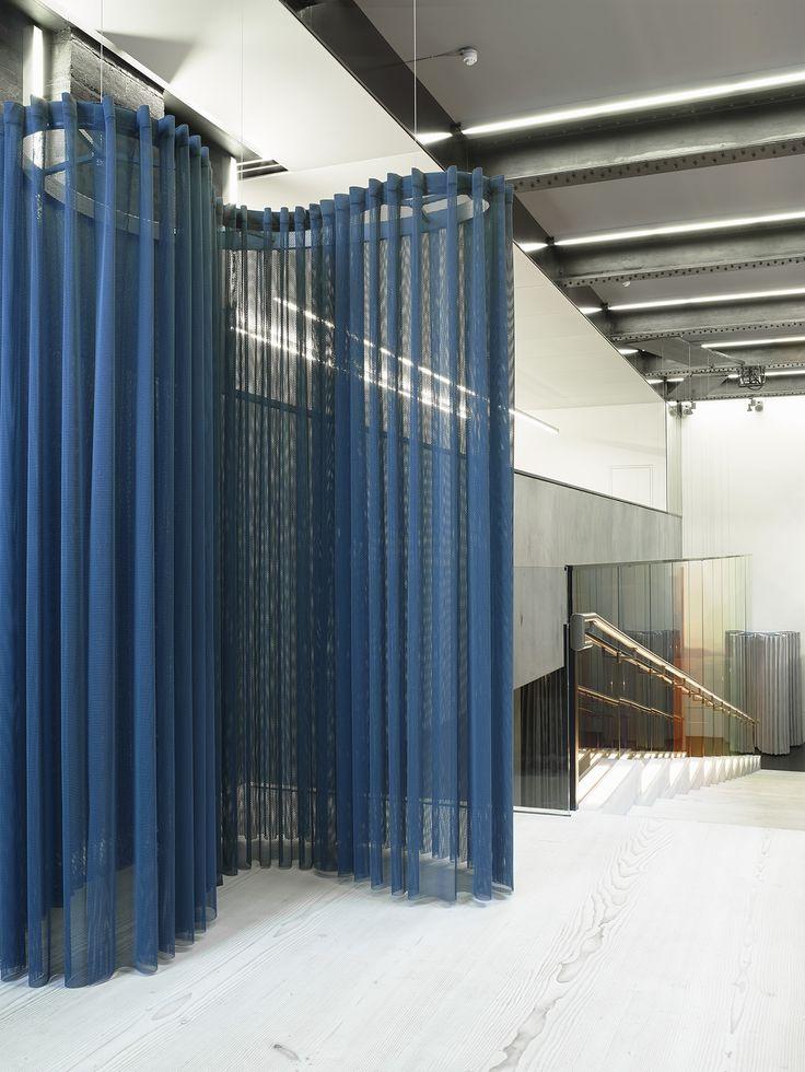 The Pilotis Installation In Kvadratu0027s London Showroom. Designed By  London Based Design Studio Doshi