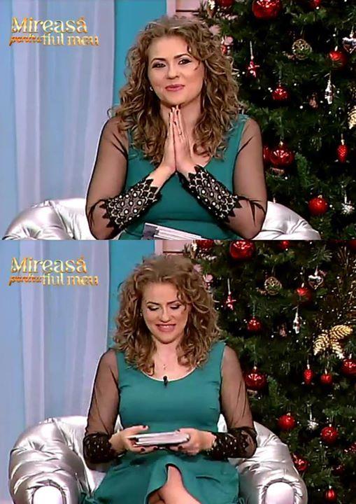 Mirela poarta astazi o rochie Per Donna <3 www.perdonna.ro #vaida #sepoartaperdonna #rochiiperdonna www.perdonna.ro