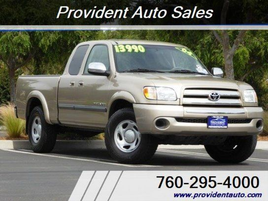 Truck, 2004 Toyota Tundra 2WD Access Cab SR5 with 2 Door in Vista, CA (92083)