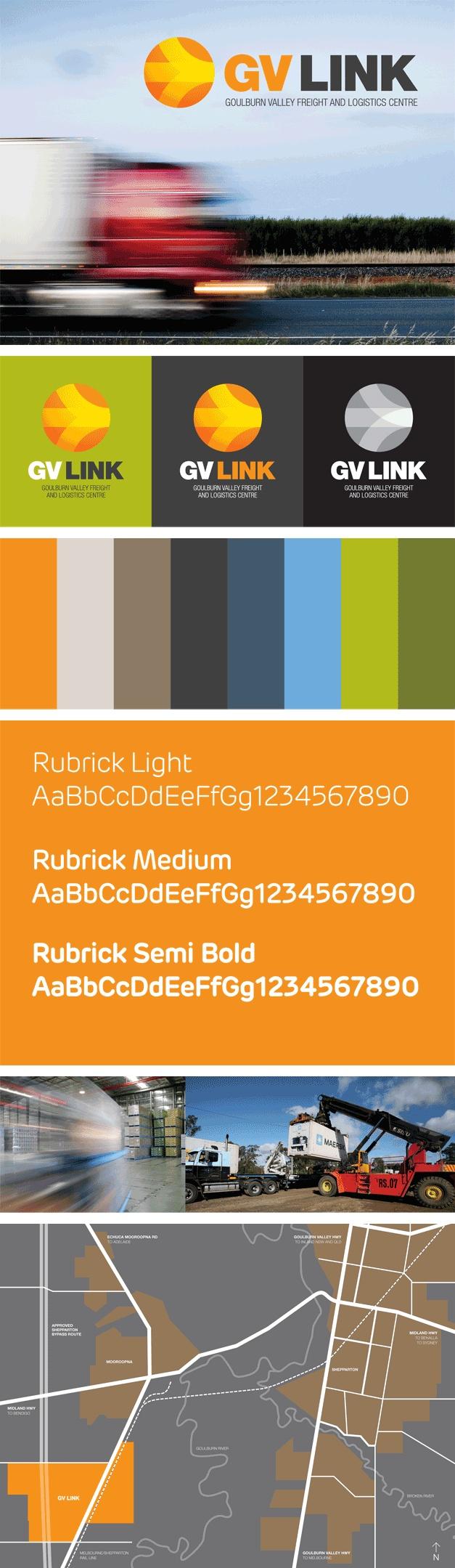 GV Link branding for Greater Shepparton City Council. www.fenton.com.au #communication #PR #branding #graphicdesign