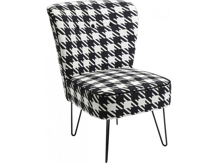 Fotel Florida I czarny — Fotele — KARE® Design