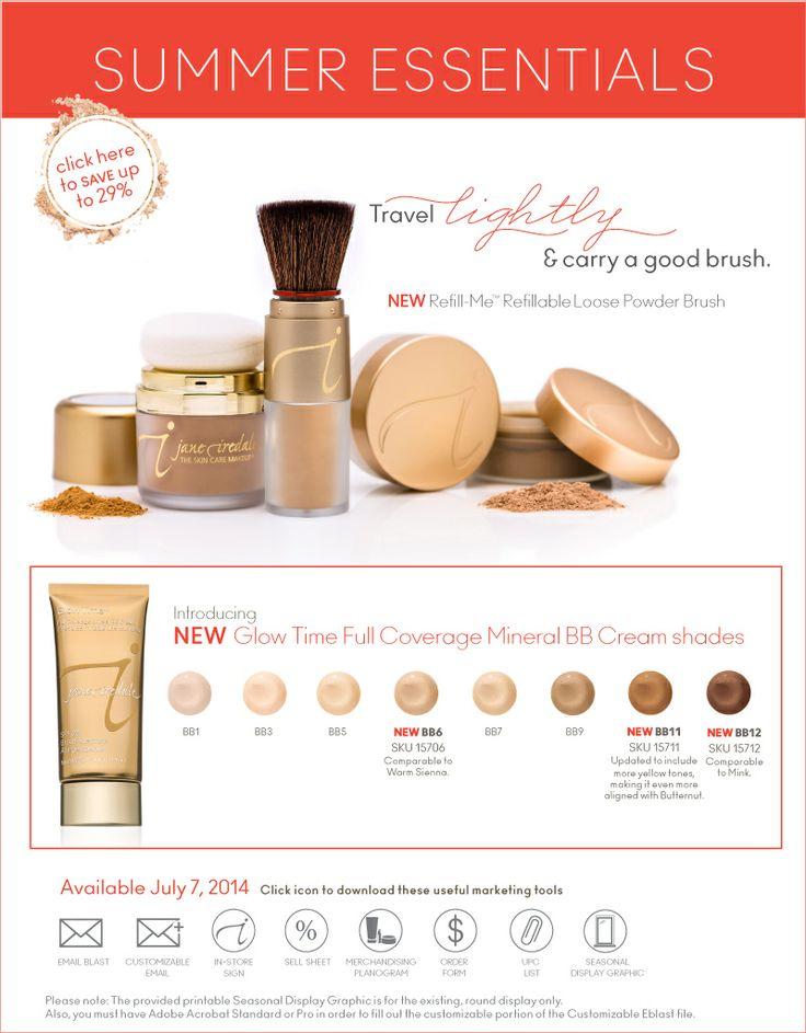 Jane Iredale makeup - Summer Essentials!