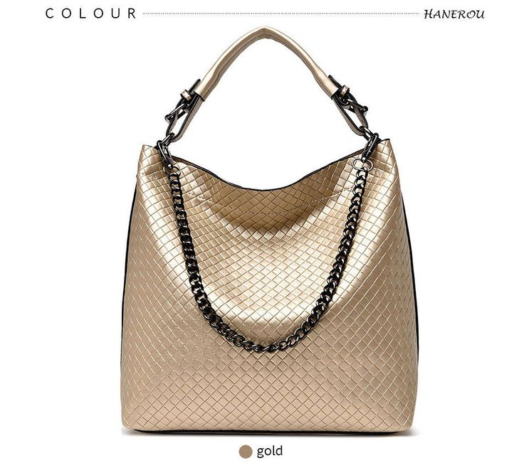 2017 Chain Bucket Women Bag New Fashion PU Leather Shoulder Bag Big Hand bag Large Tote Bag by Argyrostore on Etsy
