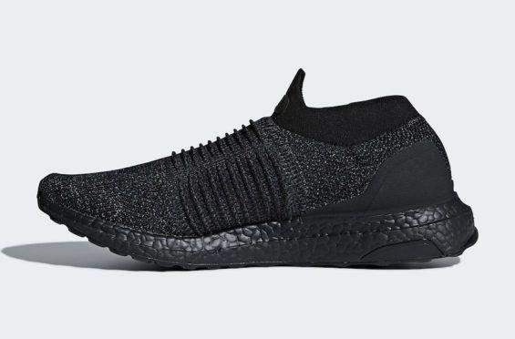 6f9c357b1 adidas Ultra Boost Laceless Triple Black