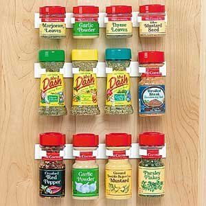 Spice Rack Storage/Organizer  $11.99 (holds 12 bottles): Spices Storage, Idea, Amazons, Cupboards Doors, Spices Jars, Spices Racks Storage, Spice Racks, Spices Organizations, Cabinets Doors