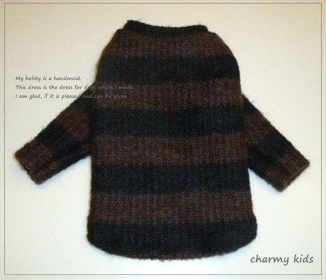 小型犬用 セーター(長袖) オーダーお受けします 半袖・トータルへの変更も出来ます。 画像はイメージ画像です。 【作品の特徴】 ボーダーセーター 【オーダー方...|ハンドメイド、手作り、手仕事品の通販・販売・購入ならCreema。