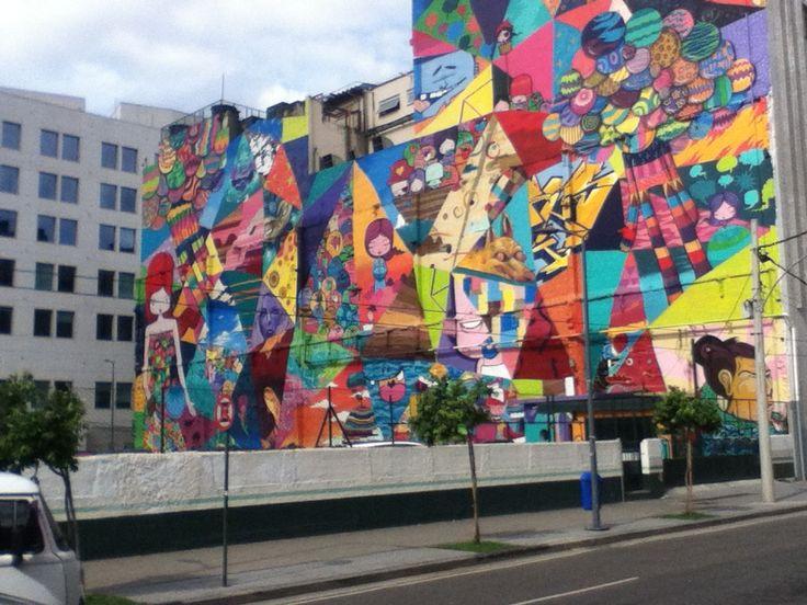 Grafite, Rio de Janeiro, Praça XV