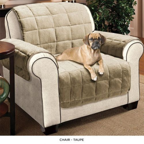 Leather Sofas Quilted Water Absorbent Microfiber Reversible Furniture Protector Assorted Styles