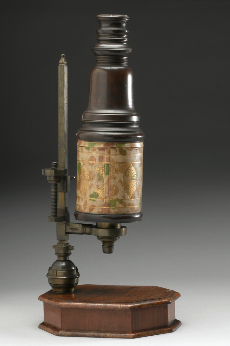 Compound microscope, England, 1701-1723