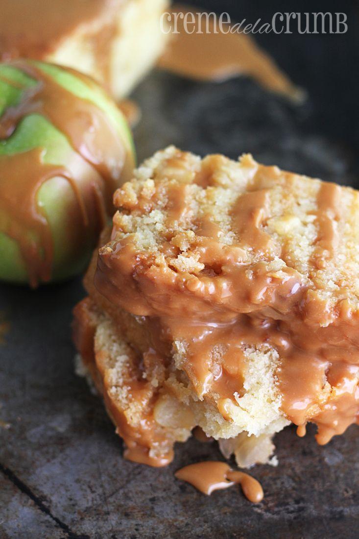 Caramel Apple Pound Cake