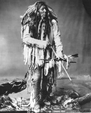 Blood and thunder indians and manifest