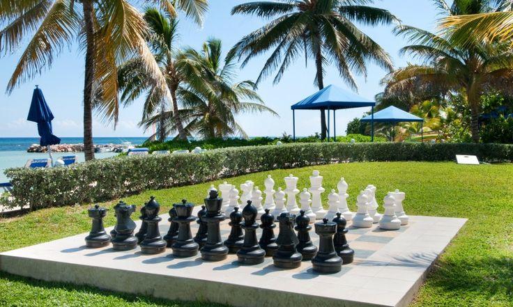 Hilton Rose Hall Jamaica Outdoor Chess