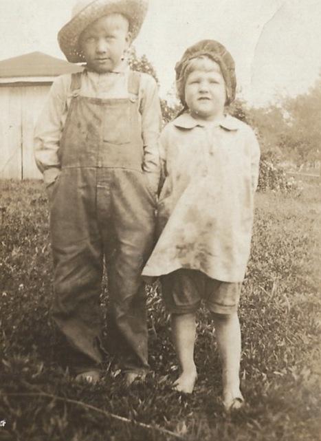 Franklin Alexander Gillim and Marjorie Ann Gillim (late 1920's) Ensor, Kentucky