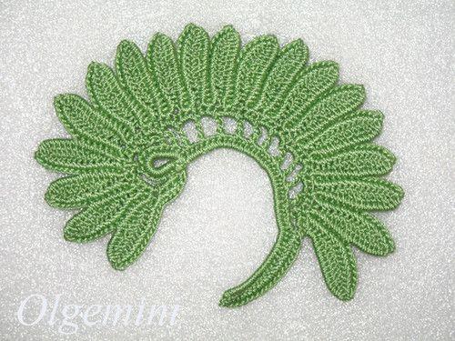 152 best crochet leaves images on pinterest crochet leaves fiddle head fern leaf motif irish crochet irish crochet lace irlandes dt1010fo
