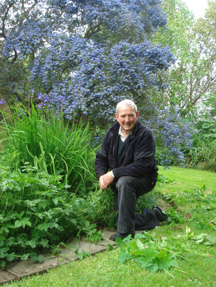 Tom Irwin helps us keep everything in the gardens under control, he is a great man for remembering good jokes... Thanks Tom!