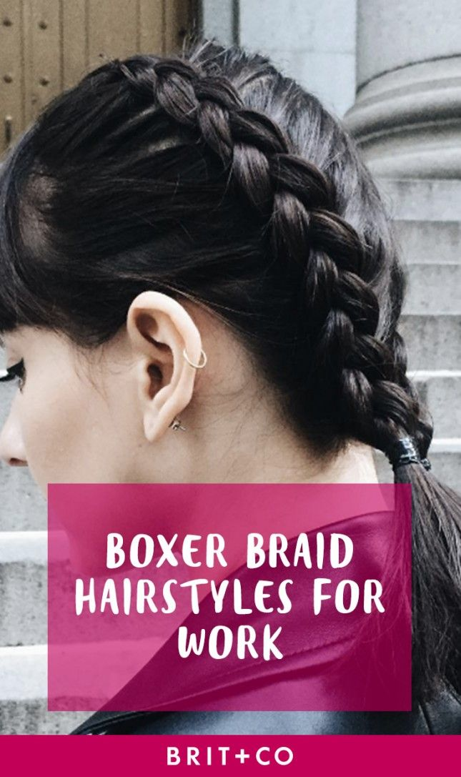 Bookmark this for the prettiest HR-approved boxer braids to wear for work.