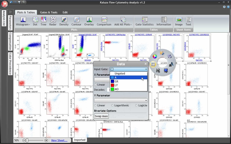 Kaluza software tutorials with images life science