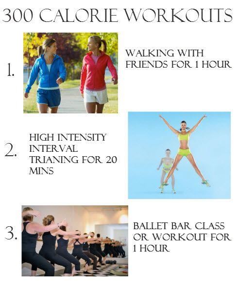 Workouts that burn 300 calories