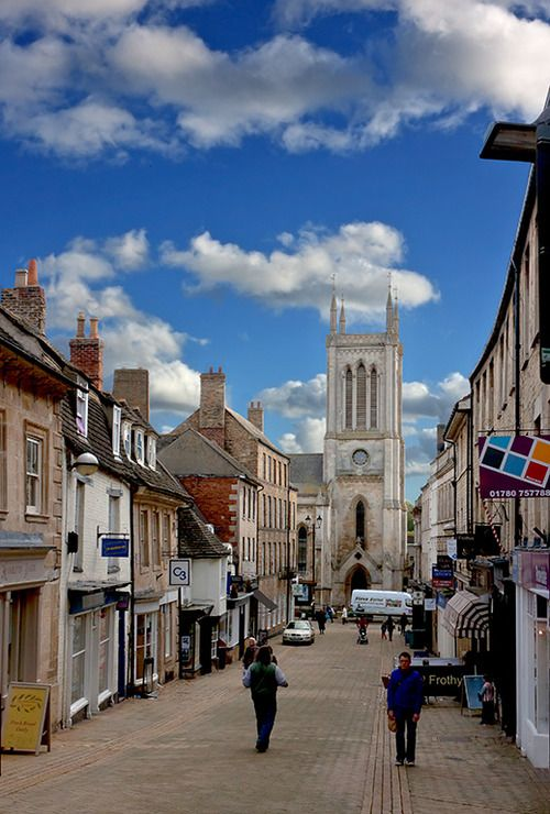 Stamford, England. My grandpa was stationed here in WWII, I'm going to go there one day