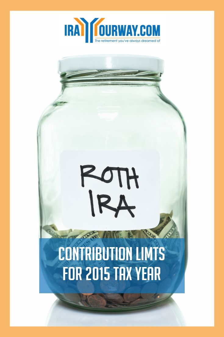 Get your questions about Roth IRA contribution limits for the 2015 tax year answered at IRAYourWay.com.