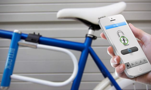 Bitlock, the Smartphone-Controlled Bike Lock/Kickstarter campaign