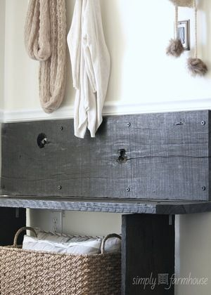 coat nook & bench