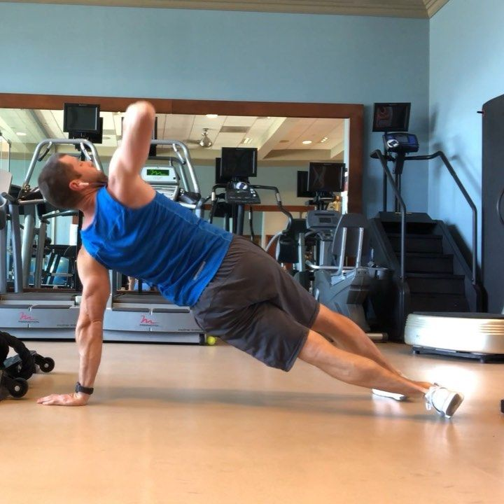 Kyle Knapp On Instagram Two Level Side Plank Switches Challenge Body And Brain These Give Some Nice Variety And Good Challenge To The Core Shou