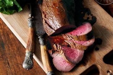 Sweet spiced roast beef