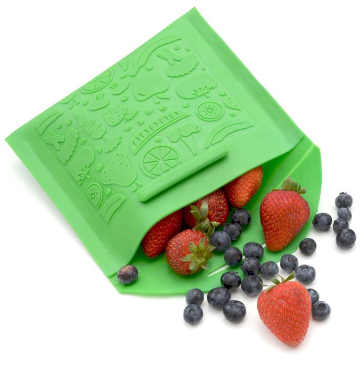 A reusable snack bag that you can throw in the dishwasher!  Latex, lead, BPA, and Phthalate free (and cute, too!)