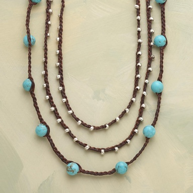 TURQUOISE TEMPO NECKLACE - Customer Favorites - Jewelry | Robert Redford's Sundance Catalog