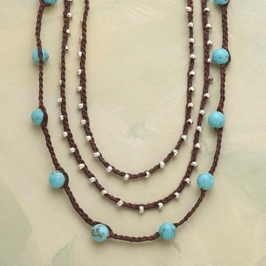 TURQUOISE TEMPO NECKLACE - Customer Favorites - Jewelry | Robert Redford's Sundance Catalog