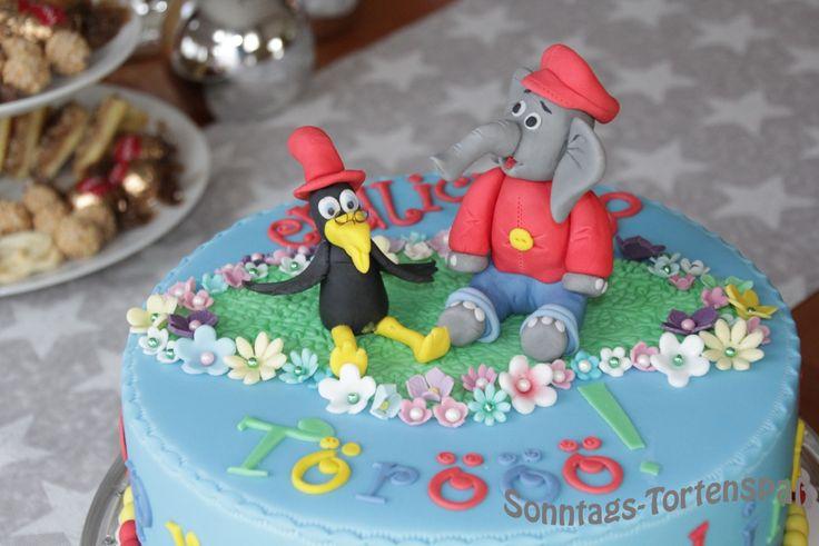 Benjamin Blümchen Torte, Benjamin Blümchen Kuchen, Benjamin Blümchen Cake