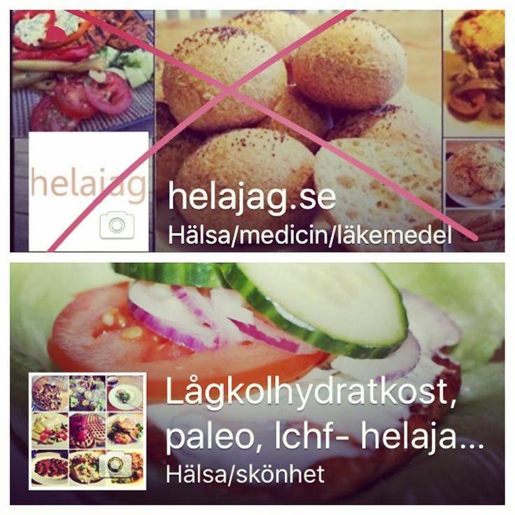 """Imorgon försvinner Facebooksidan """"helajag.se"""". KVAR blir; """"Lågkolhydratkost paleo lchf- helajag.se"""". Sidans adress är http://ift.tt/1Vd9fvn gå gärna in och klicka gilla :-) Jag delar recept och inlägg rörande kost och hälsa.  #facebooksida #hälsa #kost #kostrådgivare #kostråd #kostrådgivning #mat #lågkolhydrat #lågkolhydratkost #lowcarb #lavkarbo #lchf #lchfmat #paleo #paleomat #livsstil by helajag"""