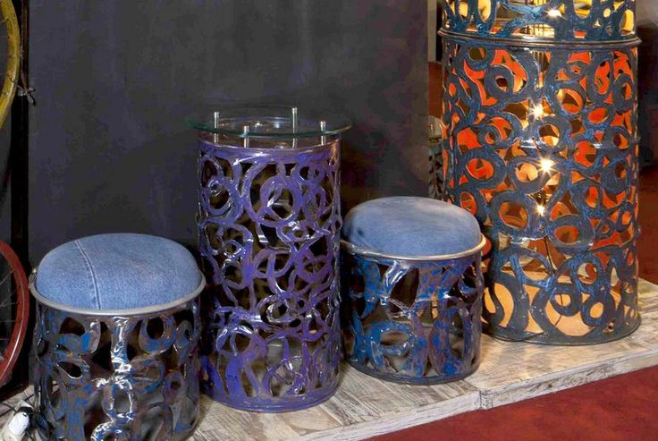 Furniture Interior Material Drum Used. interior and objects of art should not only designed an innovative and rooted in culture and the arts
