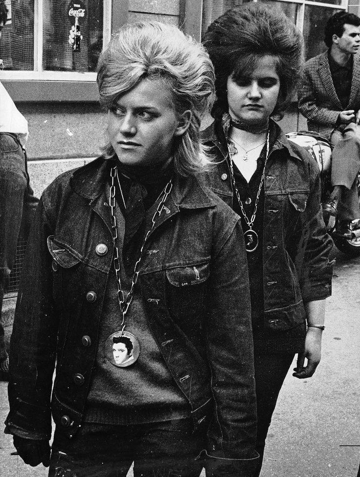 Teddy Girls in Zurich, 1962