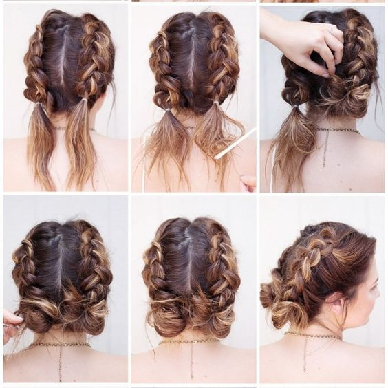 Awe Inspiring 1000 Ideas About Easy Hairstyles On Pinterest Hairstyles For Hairstyle Inspiration Daily Dogsangcom
